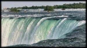 edge of Niagara Falls